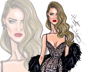hayden williams, model, and rosie huntington-whiteley image