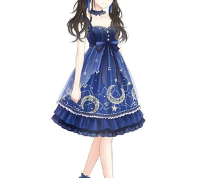 anime girl, clothes, and fashion image