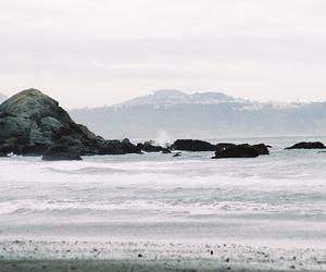 ocean, sea, and landscape image