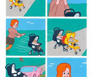 baby, funny, and weird image