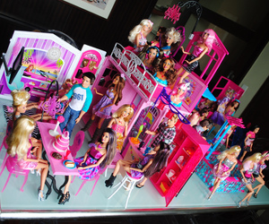 my new barbie house image
