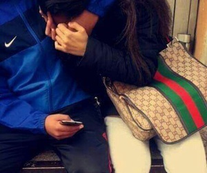 couple, gucci, and men image