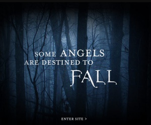 angel, fallen, and fall image