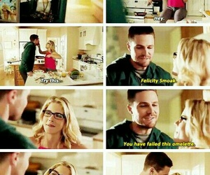 couple, arrow, and olicity image