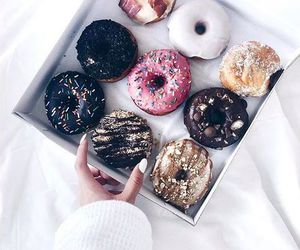 colors, donuts, and display image