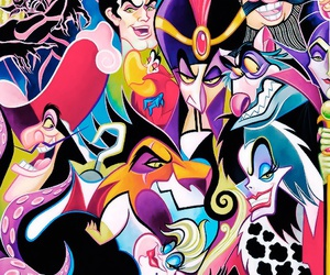 villains and disney image