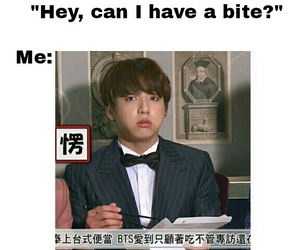 funny, jin, and taehyung image