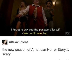 ahs, funny, and scary image