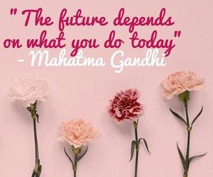 mahatma gandhi, inspiring quotes, and cocolouisenalty image