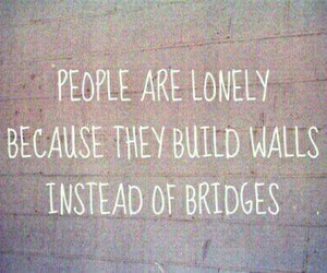 quotes, wall, and lonely image