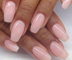 nails, pink, and girly image