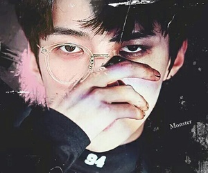dark, luhan, and myedit image