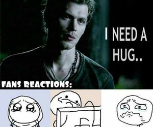 klaus, The Originals, and the vampire diaries image
