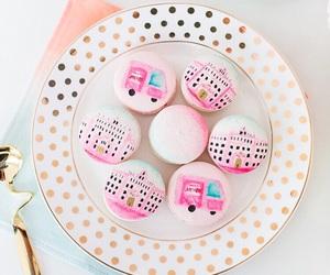 feminine, macaroons, and pink image