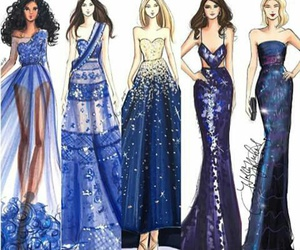 dress and moda a lapiz image