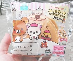 rilakkuma, cute, and food image