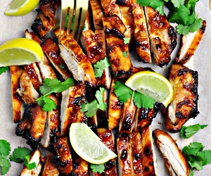 Chicken, food, and garlic image