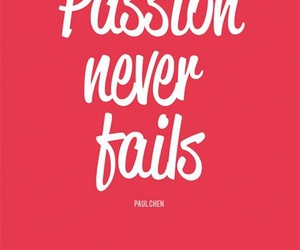 passion and quote image