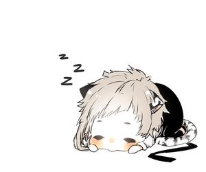 anime, bungou stray dogs, and kawaii image