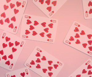 cards and pink image