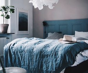 bed, design, and interior image