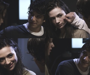 couple, tyler posey, and crystal reed image