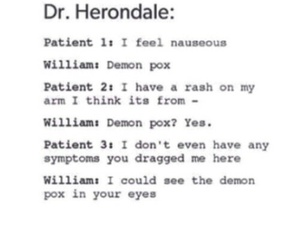 demon, doctor, and will image
