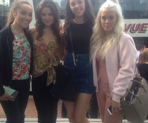 danielle campbell, lottie tomlinson, and one direction image