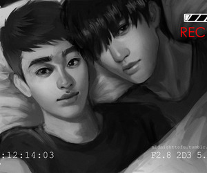 exo, kaisoo, and kai image