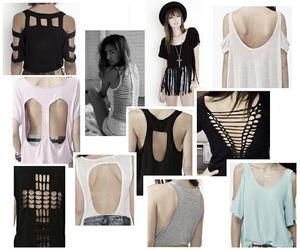 fashion, diy, and t-shirt image