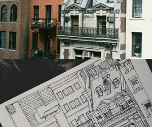 apartment, architecture, and art image