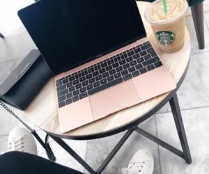 cafe, fashion, and laptop image