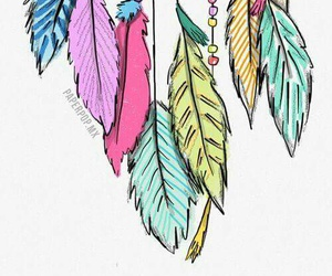 beautiful, Dream, and feathers image