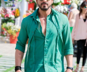 green, handsome, and shah rukh khan image