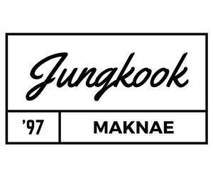 bts, jungkook, and black image