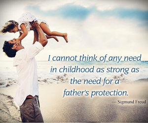 love quotes, special days, and father day image