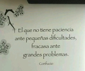 paciencia, frases, and problemas image