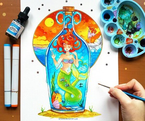 disney and thelittlemermaid image