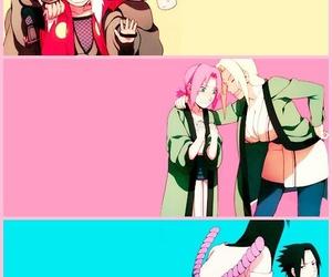 naruto, orochimaru, and sakura image