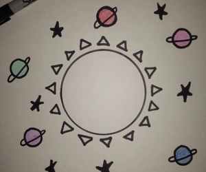 draw and planets image