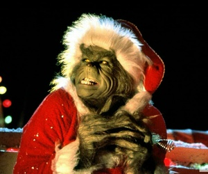 christmas, grinch, and santa image