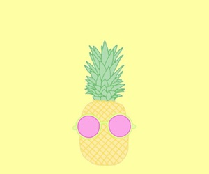 pineapple, cool, and fruit image