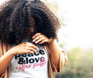 natural hair and thick hair image