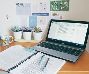 book, organising, and studyblr image