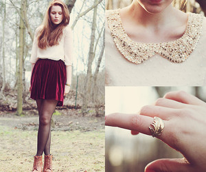 collar, fashion, and gorgeous image