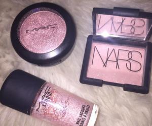 pink, mac, and nars image