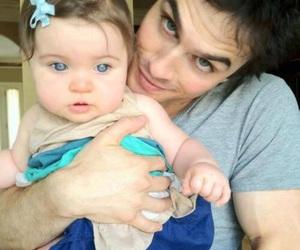 ian somerhalder, baby, and ian image
