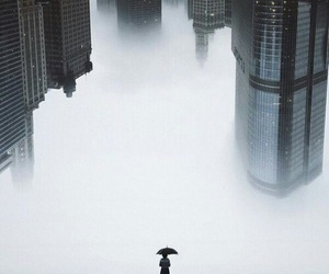 city, alone, and chicago image