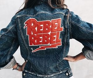 denim, rebel, and style image