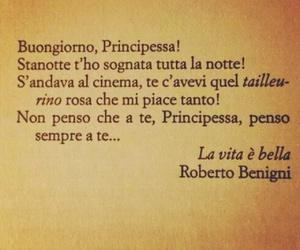 frasi, La Vita e Bella, and frasi italiane image